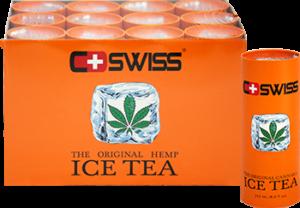 Холодный чай с коноплей CSWISS