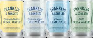 Тоники и микшеры Franklin & Sons в жестяной банке